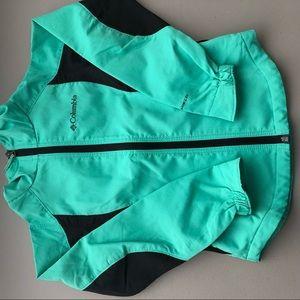 Girls Columbia rain jacket lightweight size XS 6x